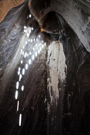 turda: Salt Mine Stock Photo