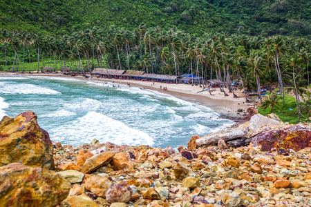 bai Men (Men Beach), Nam Du islands, Kien Giang province, Vietnam. destination for tourists. Stock Photo