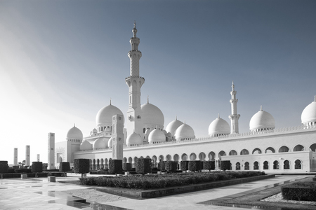 sheikh zayed grand mosque, Abu Dhabi, UAE Editorial