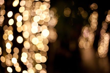 golden bokeh holiday background