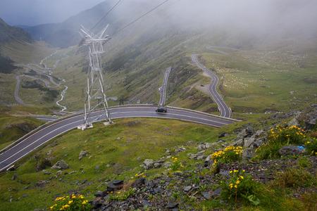 transfagarasan road, Romania Stock Photo