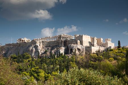 view on the Acropolis with Parthenon, Athens