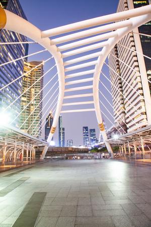 chong nonsi bridge, Bangkok, Thailand Stock Photo - 120054818
