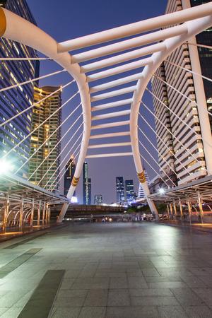 chong nonsi bridge, Bangkok, Thailand Reklamní fotografie - 121339516