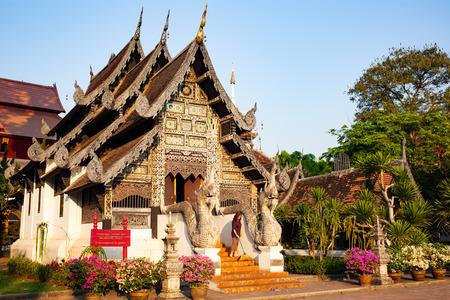 wat Chedi Luang Varavihara, Chiang Mai, Thailand Reklamní fotografie - 121339989