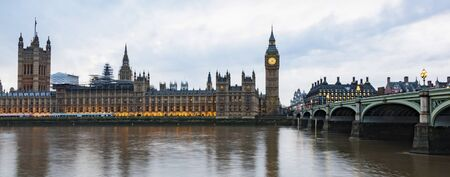 big Ben and Houses of Parliament  London  UK