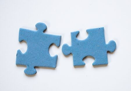 puzzle pieces finding solutions concept