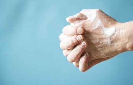 stay protected wash your hands coronavirus Stock Photo