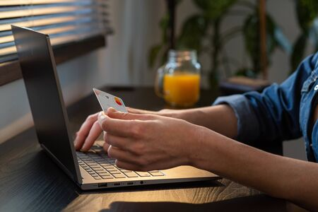 paying by card online shopping internet banking