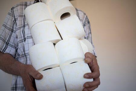 COVID-19 panic buying toilet paper