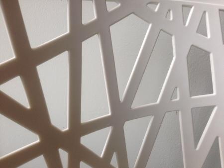 Geometrische vormen in zwart en wit
