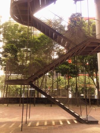 steel: Staircase in black steel