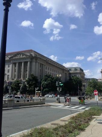 gorgeous day in Washington DC