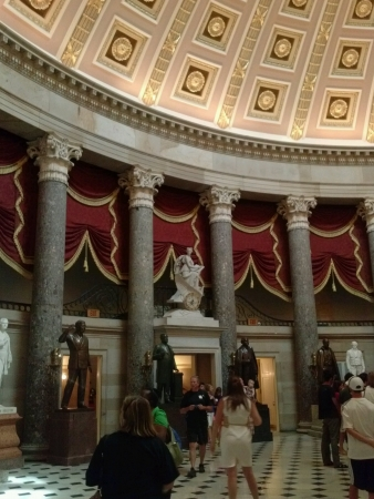 Inside tour of US Capitol