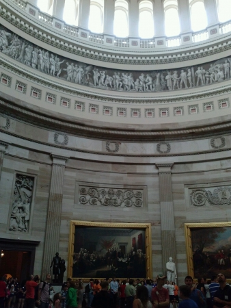 Inside tour of US Capitol 版權商用圖片 - 24649298