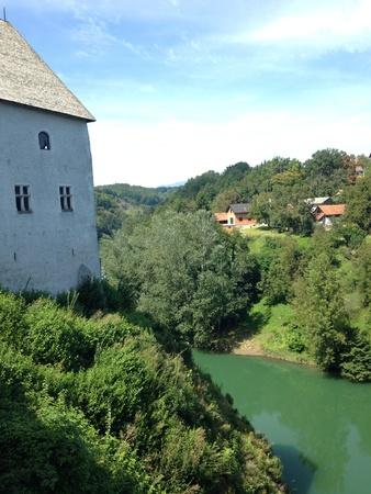 View from Croatian castle  Reklamní fotografie