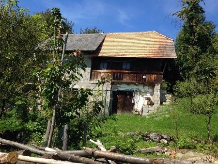 Farm house in Croatia