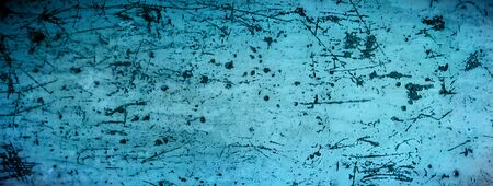 Blue metallic grunge empty background texture. Old blurred texture wallpaper. Distressed website background. Vintage metal rust header web banner web header. Copy space for text 版權商用圖片 - 134309662
