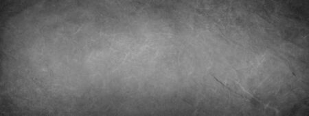 Elegant marbled black and gray empty horizontal background. Luxury antique card. Old blurred texture wallpaper. Background blackboard website. Vintage textured web banner header board. Waves 版權商用圖片 - 135841108