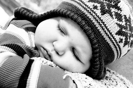 Sleeping baby. Stok Fotoğraf