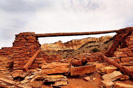mineros: Casa de los mineros Foto de archivo