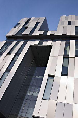 Modern building, The consert hall in Uppsala, sweden Stock Photo - 2614402