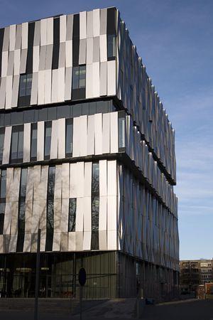 Modern building, The consert hall in Uppsala, sweden