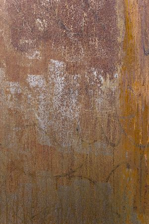 Grungy rusty metal texture for background
