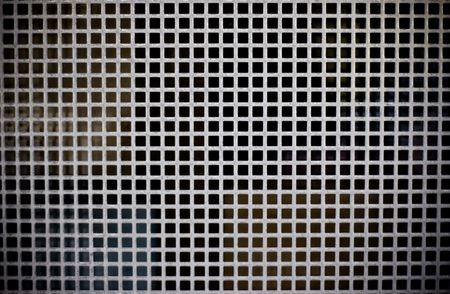 metal texture background with squares Stock Photo