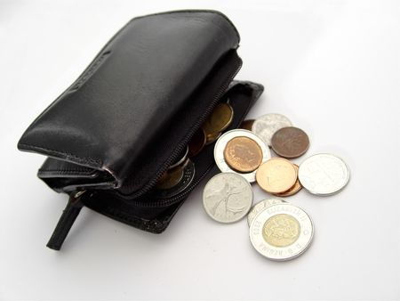 canadian cash: Wallet and Coins