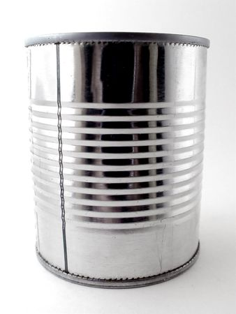 Closeup of Tin Can