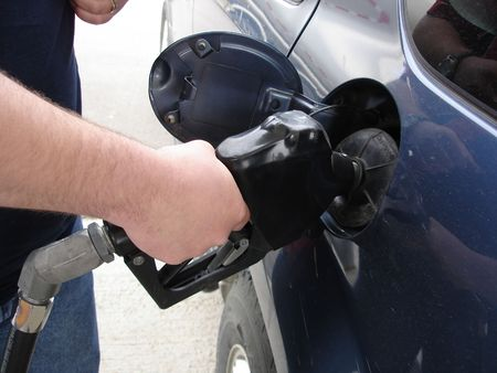 pumping: Pumping Gas into Car