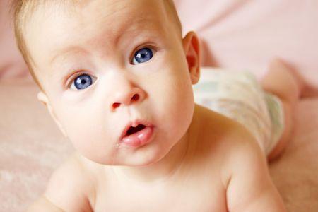 Little Baby Girl Stock Photo - 805687