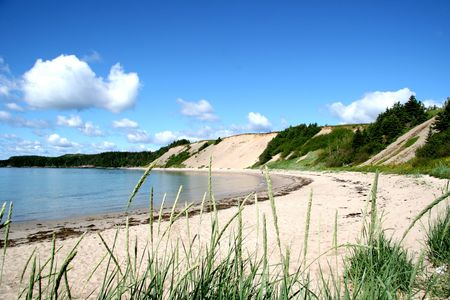Sandy Cove Beach in rural Newfoundland Stock Photo - 4686053