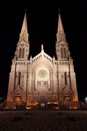 Sainte Anne Church in Quebec, Canada photo