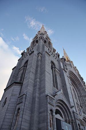 Sainte Anne Church in Quebec, Canada photo
