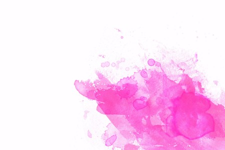 ink stain: Pink abstract illustration with white space for design  Stock Photo
