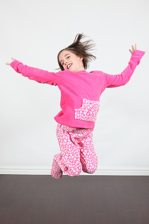 pjs: Adorable little girls posing for photos in PJs