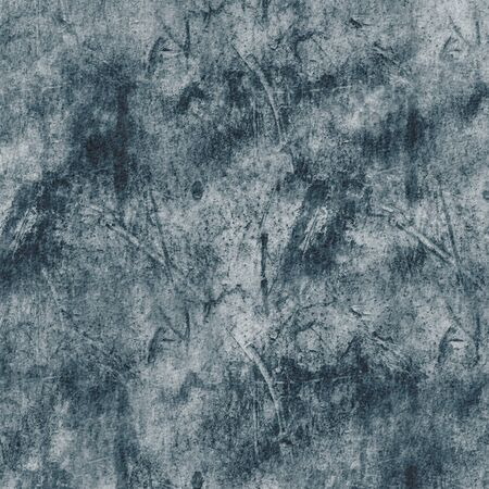 Digital Grunge Blue with black abstract textured background Imagens