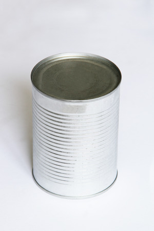 tinned goods: can Stock Photo