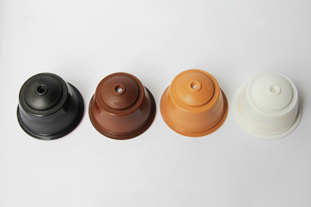 gusto: Coffee capsules Stock Photo