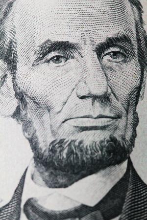 lincoln: Lincoln portrait on dollar
