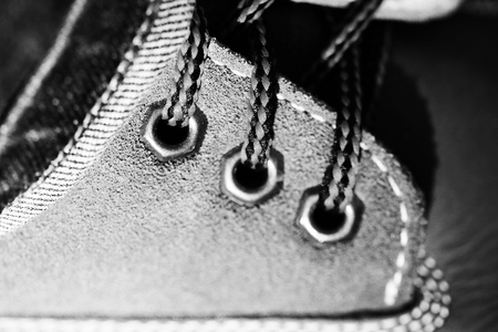 lacing sneakers: Laces in shoes