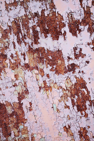 metal corrosion: Corrosion of metal texture Stock Photo