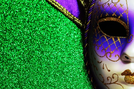 Background for Mardi gras or Fat tuesday