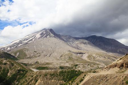 National park Mount Rainier in Norh America beautiful landscape