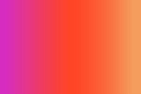 Gradient abstract background in bright colors in a trendy style, suitable for the design of social media, landing pages, web banners. Three shades were used - fuchsia, orange and coral.