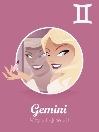 Gemini zodiac sign