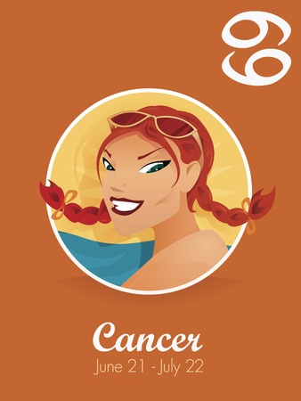 astrological: Cancer zodiac sign