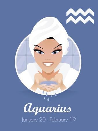 zodiacal sign: Signo de Acuario